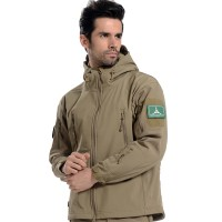 Deltacs Shark Skin SoftShell Water Resistant Combat Jacket - Dark Earth