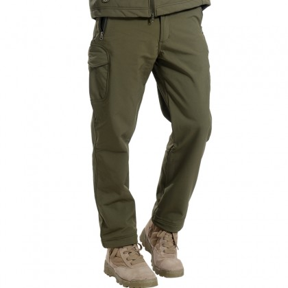 Deltacs Shark Skin SoftShell Water Resistant Combat Pants - OD Green