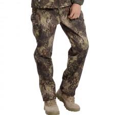 Deltacs Shark Skin SoftShell Water Resistant Combat Pants - Mandrake