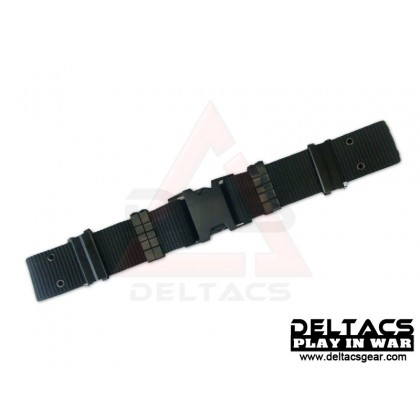 Deltacs Quick Release S Buckle Tactical Belt - Black