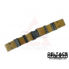 Deltacs Quick Release S Buckle Tactical Belt - Tan