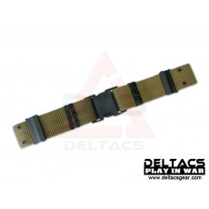 Deltacs Quick Release S Buckle Tactical Belt - OD Green