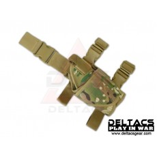 Deltacs Tornado Universal Tactical Thigh / Drop Leg Holster - Multicam