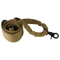 Deltacs Single Point Bungee Airsoft/Paintball Rifle Sling - Tan
