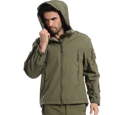 Deltacs Shark Skin SoftShell Water Resistant Combat Jacket - (12 Colors)