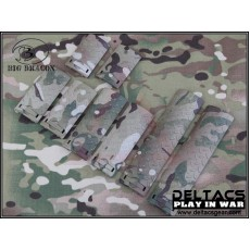 ERGO Diamond Plate Rail Cover Set of 8 - Multicam