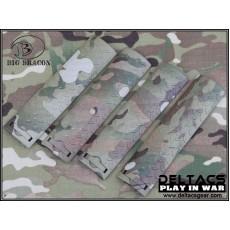 ERGO Diamond Plate Rail Cover Set of 4 - Multicam