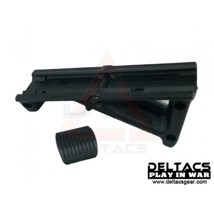 Magpul PTS AFG2 (Angled Fore Grip) Rail-Mounted Forward Grip - Black