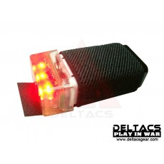 FMA KNVIR-14 Visible Beacons Markers Flashing Light(Black) - Red