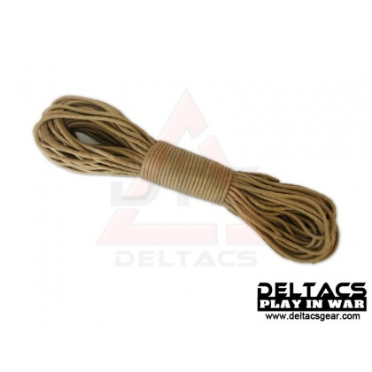 Survival Paracord (100ft) - Tan