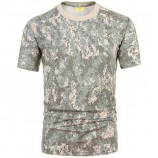 Deltacs Camouflage Cotton T-Shirt - ACU