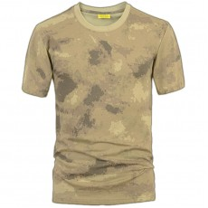 Deltacs Camouflage Cotton T-Shirt - Atacs