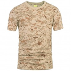 Deltacs Camouflage Cotton T-Shirt - Digital Desert