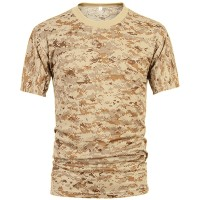Deltacs Camouflage Quick Dry T-Shirt - Digital Desert