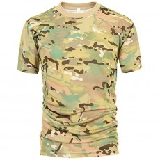 Deltacs Camouflage Quick Dry T-Shirt - Multicam