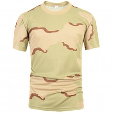 Deltacs Camouflage Quick Dry T-Shirt - Three Color Desert