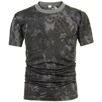 Deltacs Camouflage Quick Dry T-Shirt - Typhoon