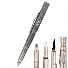 Multifunction 4 in 1 Self Defense Tactical Survival Pen - Grey
