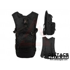 Deltacs Tactical Hydration Back Pack - Black