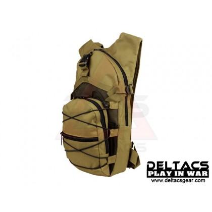 Deltacs Tactical Hydration Back Pack - Black