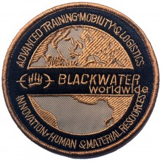 Blackwater Worldwide Velcro Patch