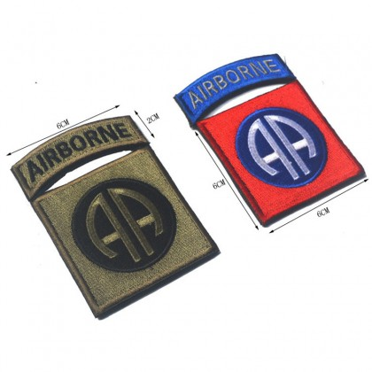 82nd Airborne Division Velcro Patch - Red