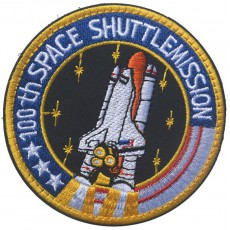 100th Space Shuttle Mission Patch