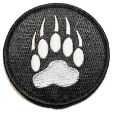 Blackwater Velcro Patch - Black