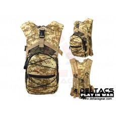 Deltacs Tactical Hydration Back Pack - Digital Desert
