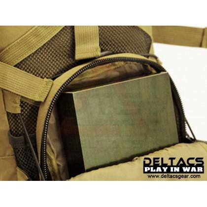 Deltacs Tactical Hydration Back Pack - Digital Woodland