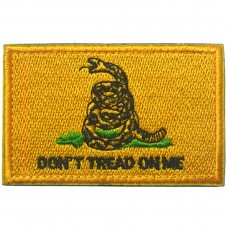 Gadsden Flag Don't Tread On Me - Yellow