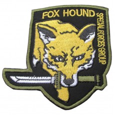 Fox Hound Special Forces Group Velcro Patch - Yellow