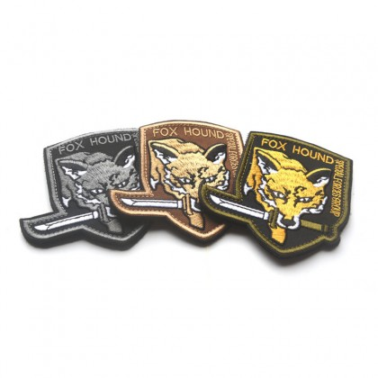 Fox Hound Special Forces Group Velcro Patch - Tan