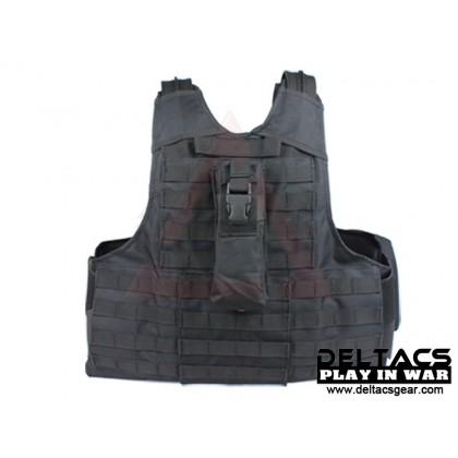 Deltacs CIRAS Type Tactical Vest - Black