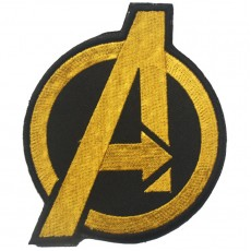 Avengers Velcro Patch - Yellow