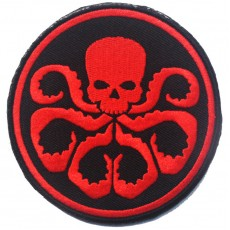 Hydra Velcro Patch - Red