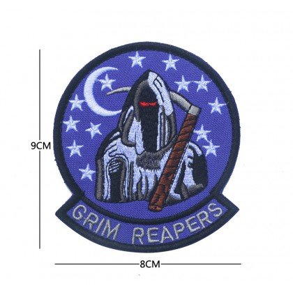 Grim Reapers Squadron Velcro Patch