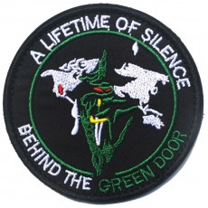 USAF A Lifetime Of Silence Behind The Green Door Velcro Patch