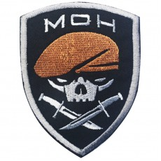 Medal of Honour 75th Ranger Regiment Velcro Patch - Black