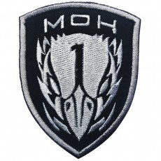 Medal of Honour Task Force Blackbird Velcro Patch - Black