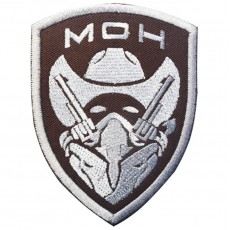 Medal of Honour Gunfighter Velcro Patch - Tan