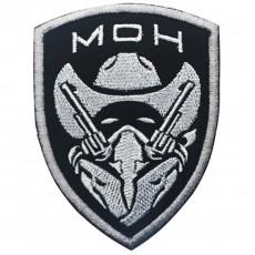 Medal of Honour Gunfighter Velcro Patch - Black