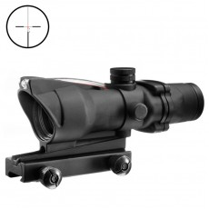 AIM-O ACOG 4x32 Auto Brightness Fiber Optic Red Recticle Scope