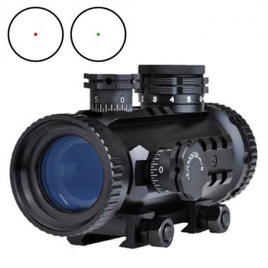 AIM-O 1x30 Red/Green Dot with RIS Rail