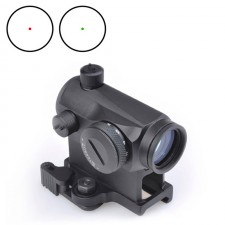 AIM-O T1 Red/Green Dot with QD Mounts & Low Mount