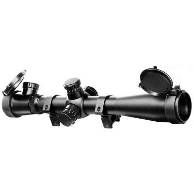 AIM-O 3.5-10x40E-SF Red/Green Illuminated Recticle Scope