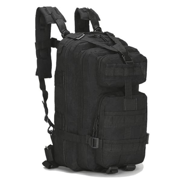 f73b676507d 3P Tactical Hiking 30 Litre Backpack - Black