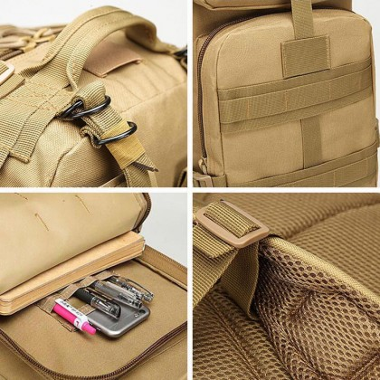 [Marketplace]Army Military Tactical Hiking Outdoor Camouflage 3P Backpack
