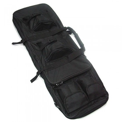 Deltacs Airsoft/Paintball Dual Rifle Carrying Bag(85cm) - Black
