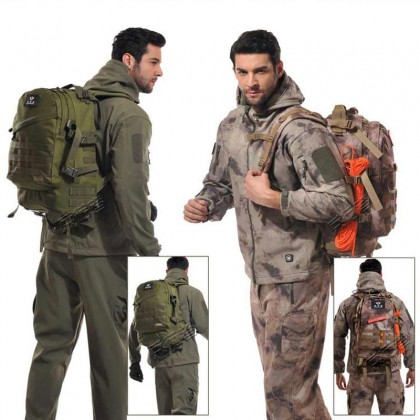3D Tactical Hiking 40 Litre Backpack(AC)
